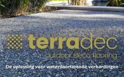 Terradec – de oplossing voor waterdoorlatende verhardingen